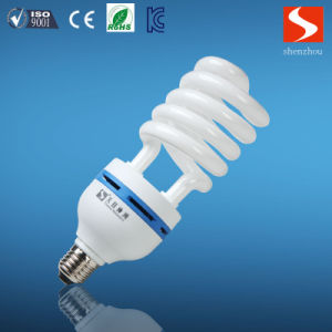 Half Spiral 85W Energy Saving Lamp, Compact Fluorescent Lamp CFL Bulbs pictures & photos