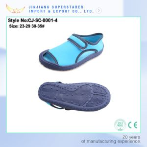 Factory Supply Latest Model New Design Blue Kids EVA Sandal pictures & photos