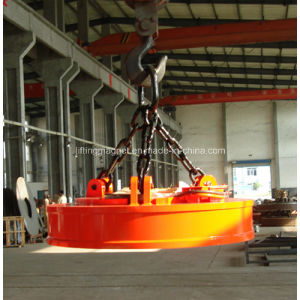 Circular Type Yueyang Lifting Electromagnet for Lifting Scraps pictures & photos