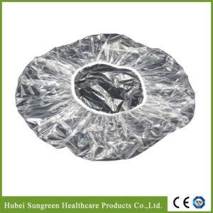Disposable Waterproof PE Shower Bouffant Cap pictures & photos