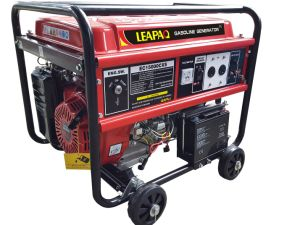 5.0kw Electric Portable Gasoline Engine Generator for Home Standby pictures & photos