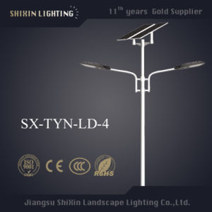 6m Solar Street Lighting with 12V 30~80ah Lithium Battery pictures & photos