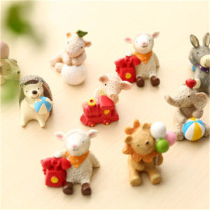 Original Home Animal Figure Resin Decoration Mini Desk Decor Doll Figurines pictures & photos