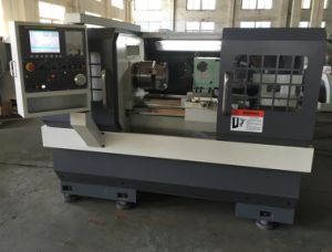 CNC Lathe with Flat Bed and Hardened Rail Ek6140X750 pictures & photos