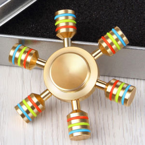 Rainbow Fidget Finger Spinner Metal Hand Spinner for Adult Toys pictures & photos