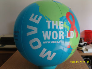 Inflatable Globe Ball pictures & photos