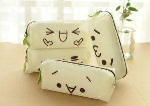 Cute Expression Printing PVC Pouch or Plastic Pen Bag pictures & photos