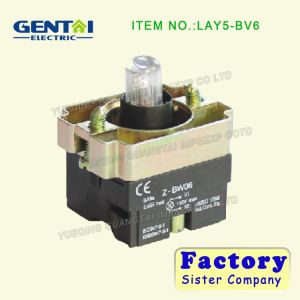 (LAY5) Series Contact Element, Button Seat of Button with Lamp pictures & photos