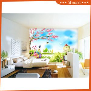 Beautiful Scenery of Spring Oil Painting for Kids Rooms pictures & photos