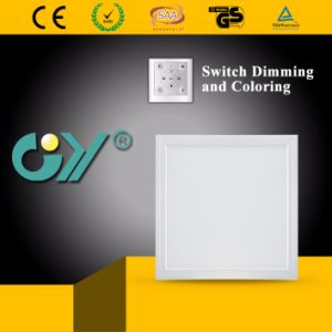 Great Quality 50W Switch Dimming and Coloring Panel Light pictures & photos