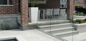Floor Mount Frameless Glass Balustrade System pictures & photos