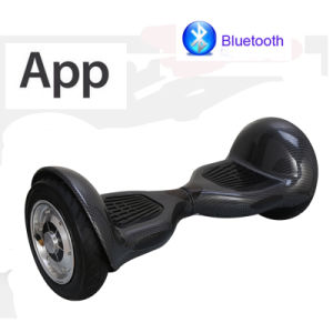 Hoverboard with APP 2 Wheels 10inch Self Balance Scooter Electric Skateboard Electric Scooter pictures & photos