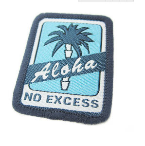 Machine Embroidery Designs Badges Satin Logo-Garment Accessory pictures & photos