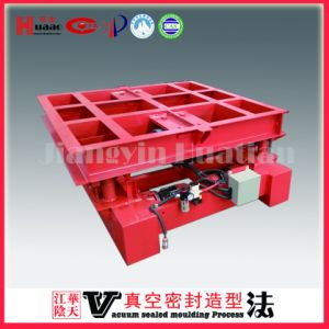 Vacuum Process Casting Molding Foundry Machine Vibrating Table pictures & photos