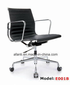 Modern Furniture Eames Swivel Aluminum Leather Hotel Office Chair (RFT-B02) pictures & photos