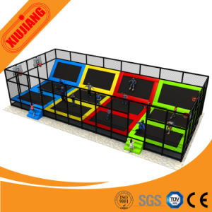 High Quality Commercial Funny Jumping Trampoline with Soft Net pictures & photos