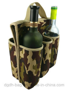 6 Bottles Portable Beer Cooler Bag Wholesale Insulated Neoprene Bottle Sleeve pictures & photos