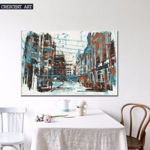 Architecture Decoration Abstract Canvas Print pictures & photos