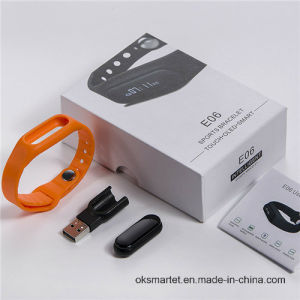 Fashion Ok Smart Wristband Bracelet Fitness Wearable Tracker for Ios Android pictures & photos