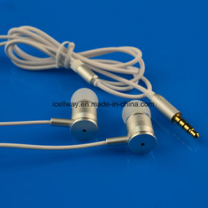Metal Mobile Phone Earphone MP3 Earphone pictures & photos