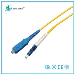 SC/PC-LC/PC Sm 9/125 Simplex 2m Fo Patch Cord pictures & photos
