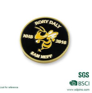 Round Shape Souvenir Gold Coin with Custom Logo pictures & photos