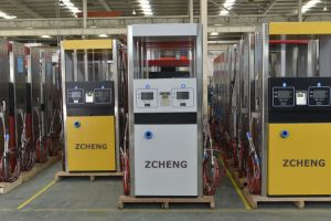 Zcheng Gas Station CNG Filling Machine Dispenser One Hose pictures & photos