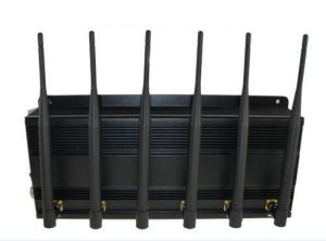6CH Adjustable Meeting Room or Classroom Mobile Phone 4G Signal Jammer pictures & photos
