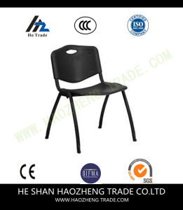 Hzpc049 Capacity Navy Plastic Stack Chair with Gray Frame pictures & photos