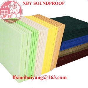 2017 High Quality Polyester Fiber Acoustic Panels Decoration Panel Board Sheet pictures & photos