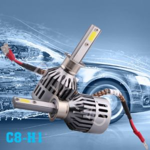 Auto Parts High Lumen LED Headlight with COB Chip pictures & photos