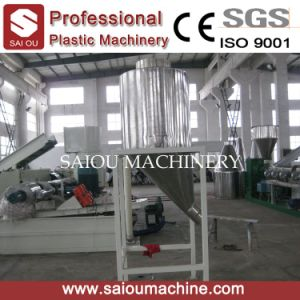 PP PE Compactor Pelletizing Line 100-500kg/H pictures & photos