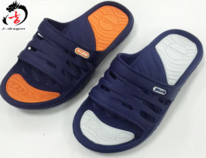 Newest Design Men′s Injection Slipper in Two Colors pictures & photos