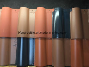 265*395mm 9fang Clay Roofing Tile Building Material Roman Roof Tiles Manufacturer, Guangdong Province, China pictures & photos