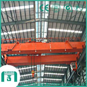 Workshop Lifting Machine 15/3t Double Girder Overhead Crane pictures & photos