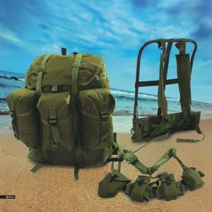 Tactical Metal-Form Multifunctional Military Green Alivebackpack pictures & photos