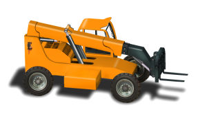 China 3.5ton 4WD Telehandler Telescopic Boom Forklift for Sale pictures & photos