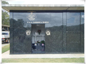 Austrialia Cemetery Memorial Gardens Personal Mausoleums with Blue Pearl pictures & photos