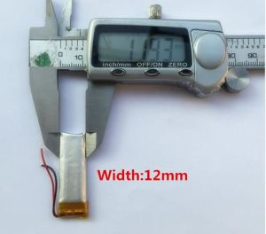 3.7V 431235 130 (mAh) Rechargeable Polymer Battery Camcorder Battery pictures & photos