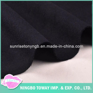 Black Suit Cloth Double Sided Cashmere Wool Fabric Wholesale pictures & photos