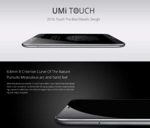 Umi Touch Smart Phone 4G FDD-Lte Android 6.0 5.5 Inch Fingerprint Gray pictures & photos