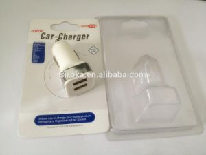 2016 Hot Selling Dual 2USB Car Charger with White Color for iPhone iPod iPad Samsung pictures & photos