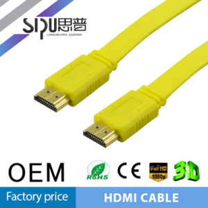 Sipu High Quality Flat HDMI Audio Cable for 1.4V 1080P