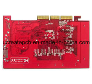 Red Gold Finger PCB Communicate Electronics Board pictures & photos