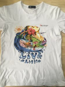 Small Format Flatbed Custom Cotton Tshirt Garment Printer pictures & photos