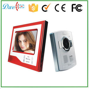 Villa 7 Inch Video Door Phone Intercom System 4 Wires pictures & photos