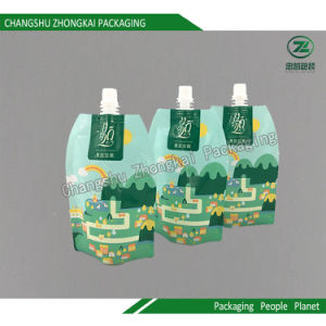 Stand up Spout Pouch Children Drink Packaging Bag pictures & photos