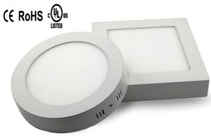 3W 6W 9W 12W 15W 18W Round Square LED Panel Downlight pictures & photos