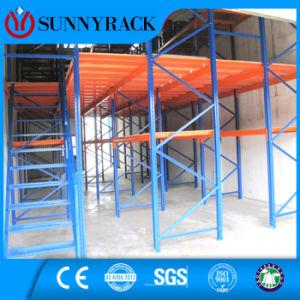 CE Multi-Layer Warehouse Steel Storage Mezzanine Rack pictures & photos