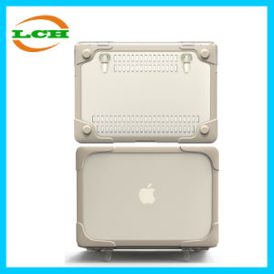 "Transparent Rubbered Shell Tablet PC Protective Cover Case for MacBook Air 13.3"" pictures & photos"